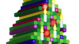 extruded christmas tree