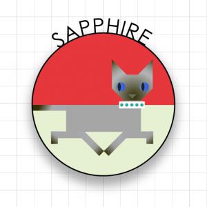 sapphire cat one