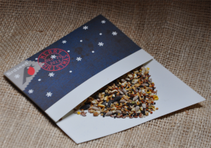 bird seed card fill envelope
