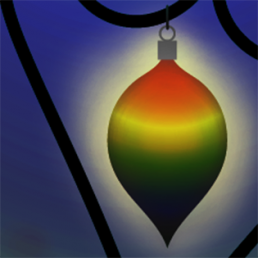 Rainbow Bauble