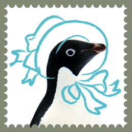 Adelie Penguin Hat