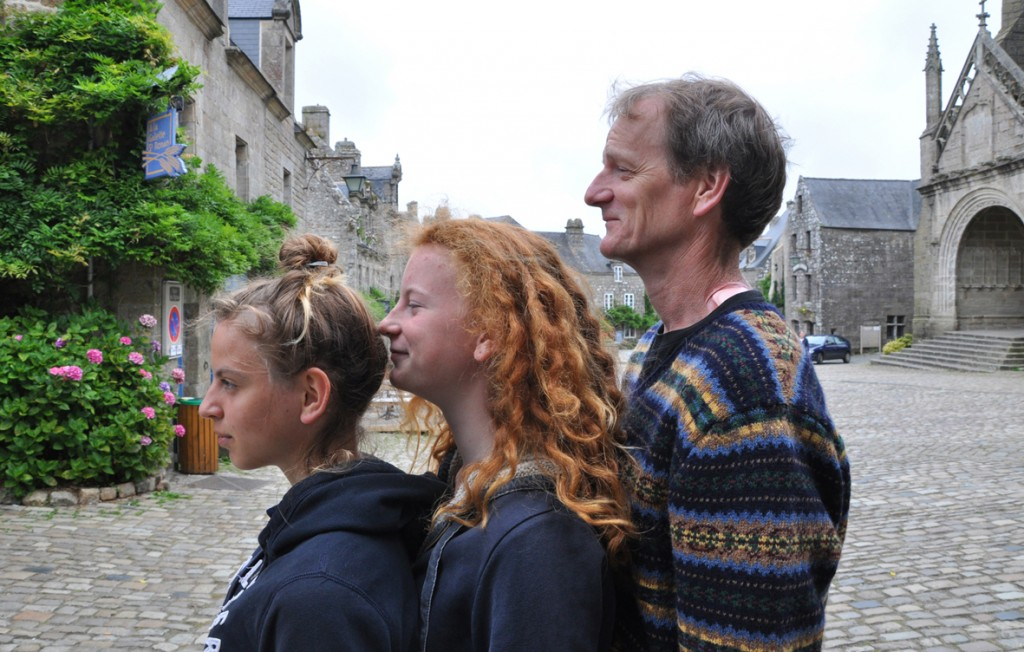 Three Silly Profiles - Locronan