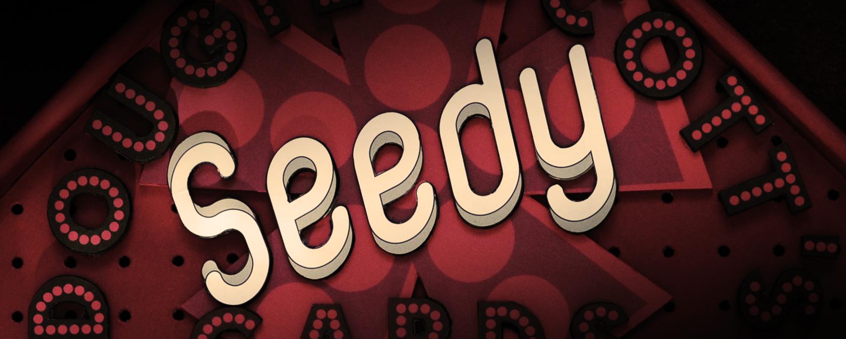 Dougie Scott's Seedy Cards Board - Top