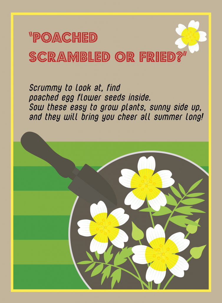 Poached Egg Seedy Card
