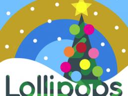 Lollipop Christmas Tree Square. Dougie Scott