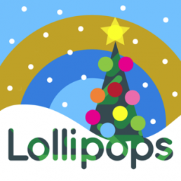 Lollipop Christmas Tree Square. Dougie Scott