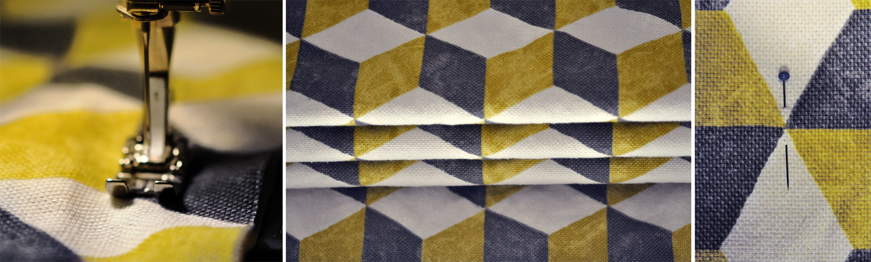 Roman Blind Sewing. Dougie Scott