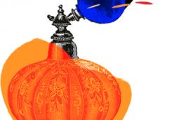 Pumpkin Perfume Square. Dougie Scott