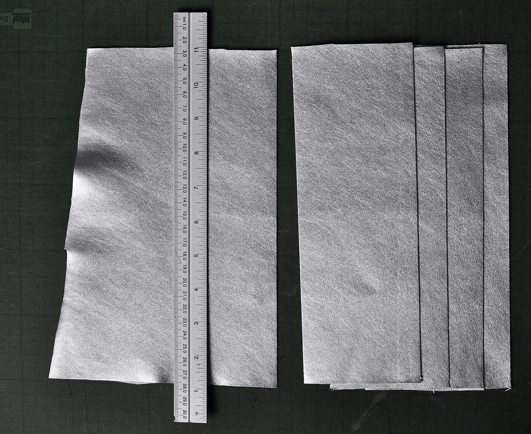 Cutting Strips. Snow Cool Bag. Dougie Scott