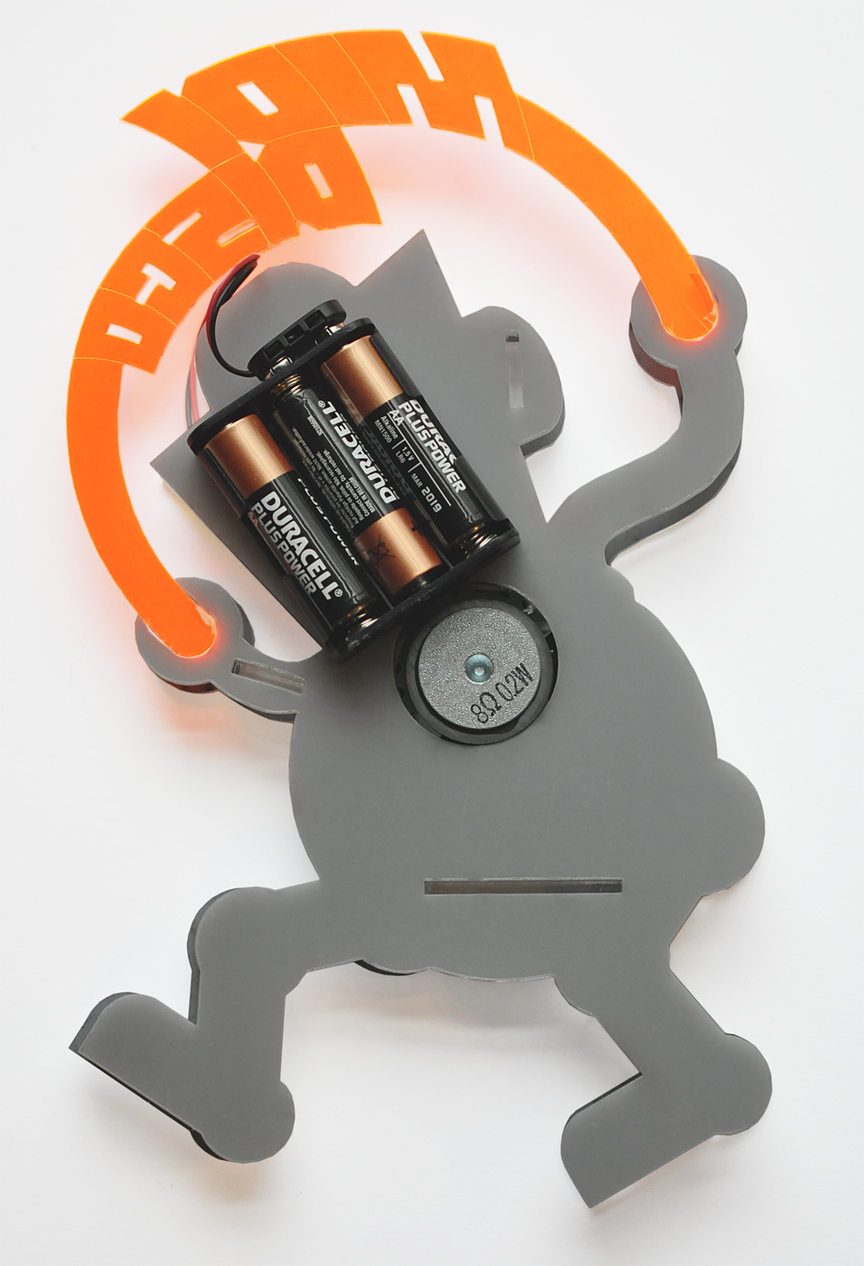Battery Back Pack. Dance! MIDI Disco Glitterball Robot Dougie Scott